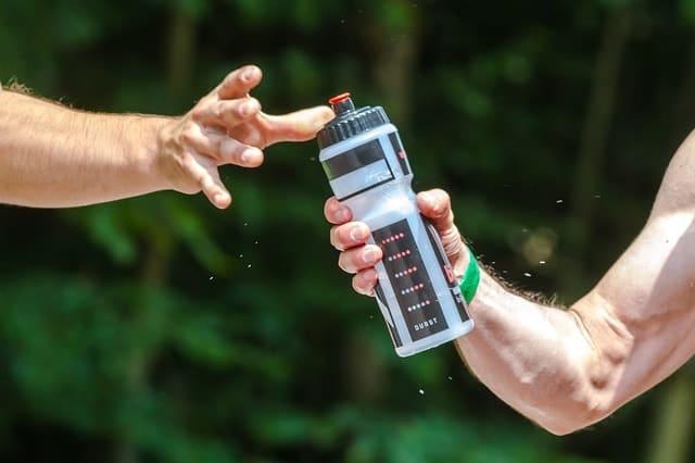 water 1 min