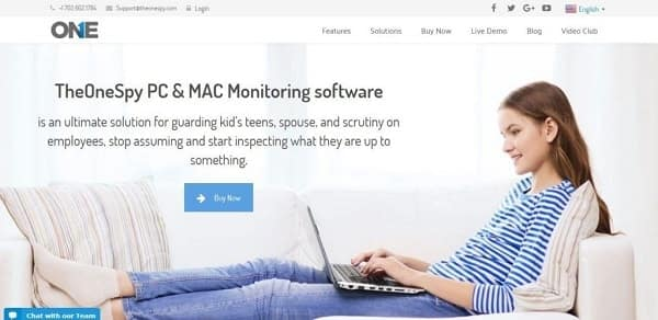 TheOneSpy Computer Tracking Software min